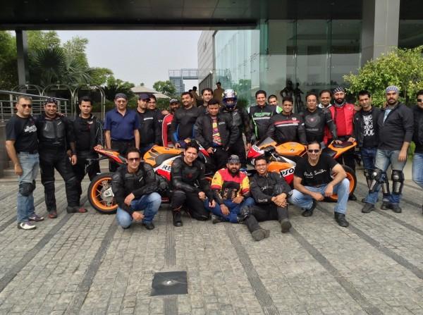Photo_Honda hosts big bike weekend ride for 'GODS'