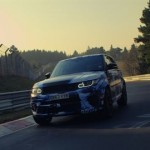 The 2015 Range Rover Sport SVR is the fastest SUV around the Nurburgring