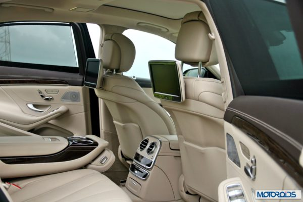 S350 CDI India interior (13)