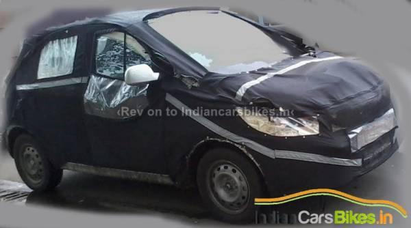 Tata Kite Hatchback Spied Front