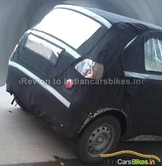 Tata Kite Hatchback Spied Rear
