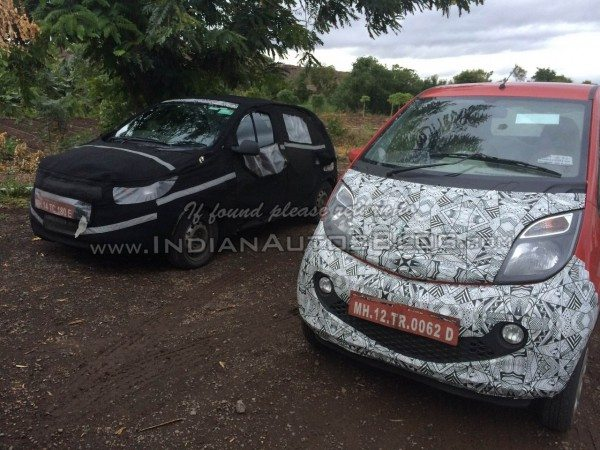 Tata Kite Small Car Spied Front