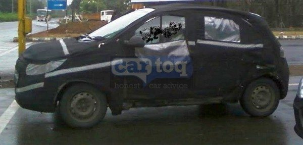 Tata Kite Small Car Spied Profile