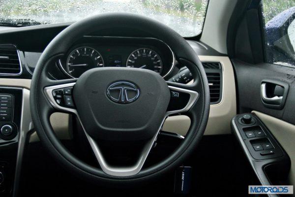 Tata Zest 1.2 revotron petrol dashboard (3)