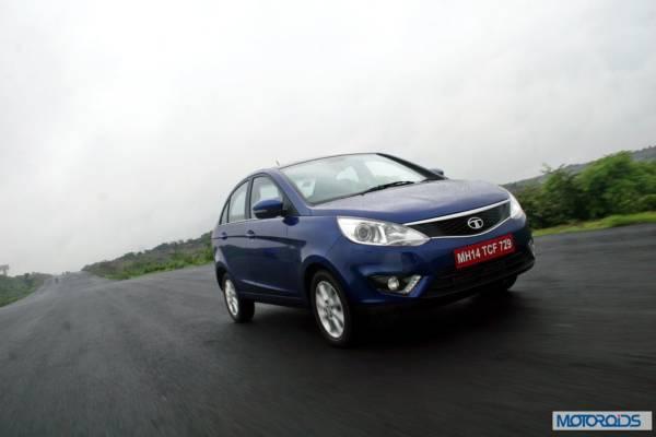 Tata Zest 1.2 revotron petrol front (3)