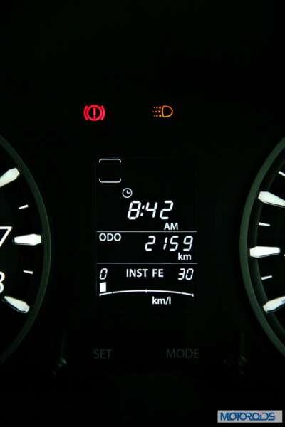 Tata Zest 1.2 revotron petrol instruments (4)