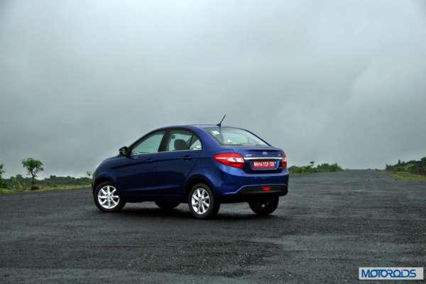 Tata Zest 1.2 revotron petrol rear (2)