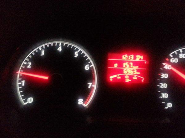 VW Vento TSi fuel efficiency