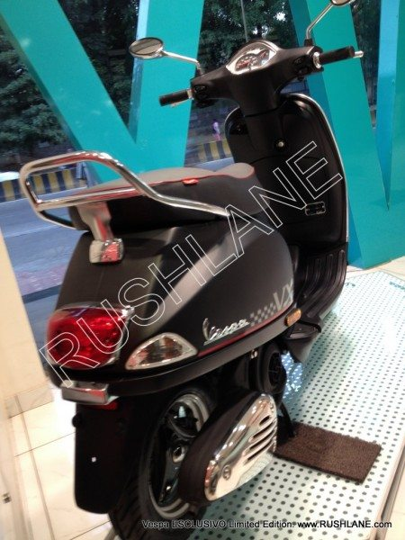 Vespa ESCLUSIVO Limited Edition