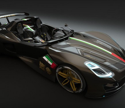 Dubai Roadster An All New 400bhp V8 Road Racer Motoroids