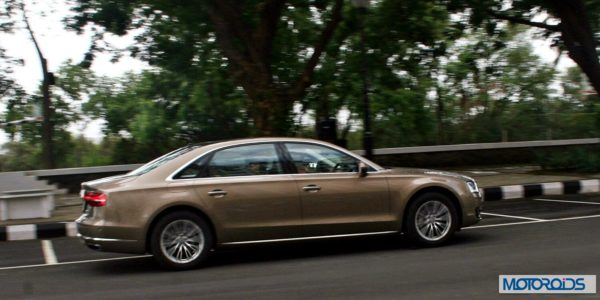 new 2014 Audi A8L India action (2)
