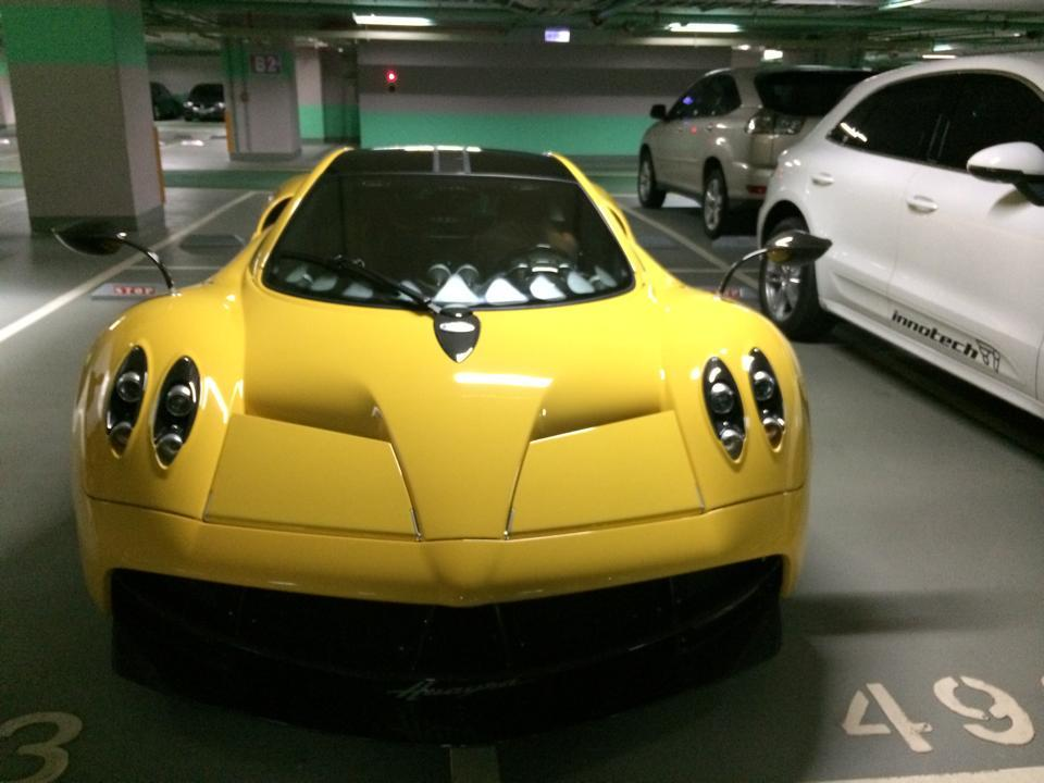 Boy Gets Pagani Huayra As A Gift On His 15th Birthday