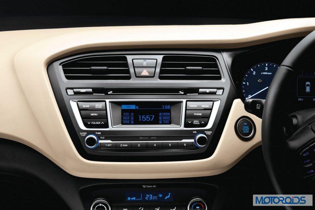 2014 Hyundai Elite i20 2 Din Audio with 1 GB memory
