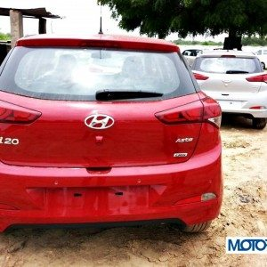 2014 Hyundai i20 rear view
