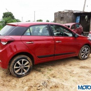 2014 Hyundai i20 side view