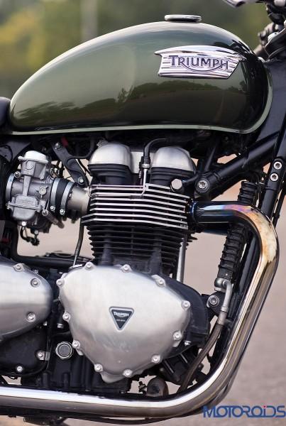 2014 Triumph Thruxton Engine