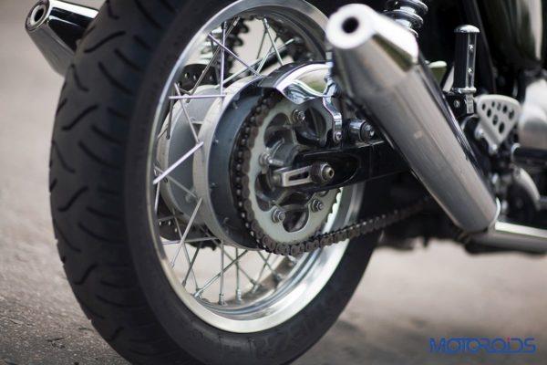 2014 Triumph Thruxton Rear Tyre