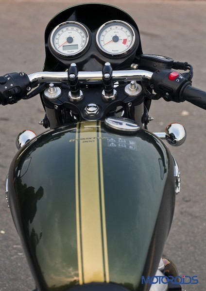 2014 Triumph Thruxton Rider View (1)