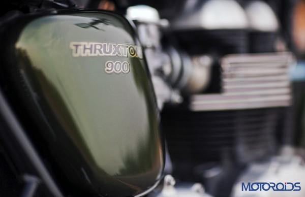 2014 Triumph Thruxton Side Panel