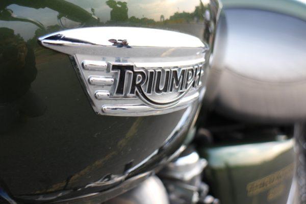 2014 Triumph Thruxton Triumph Moniker