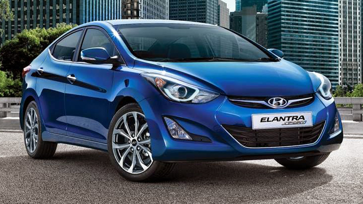 hyundai elantra gets a facelift for the thai market is india next motoroids. Black Bedroom Furniture Sets. Home Design Ideas