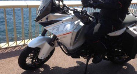2015 KTM 1290 Super Adventure Spied