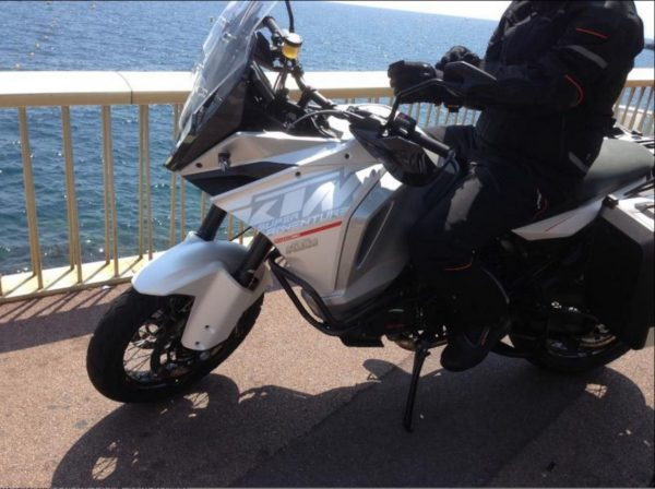 2015 KTM 1290 Super Adventure Spied