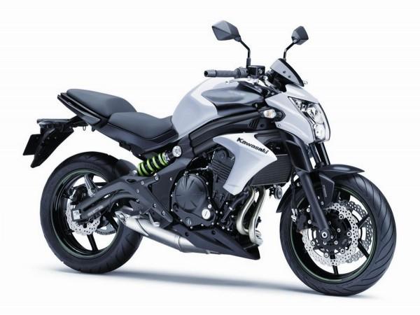 2015 Kawasaki ER6n white