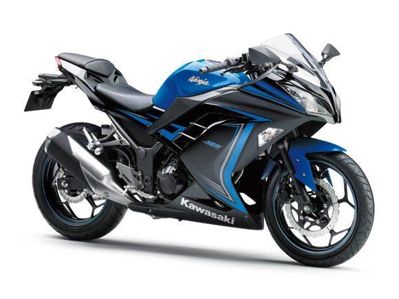 2015 Kawasaki Ninja 300 Blue
