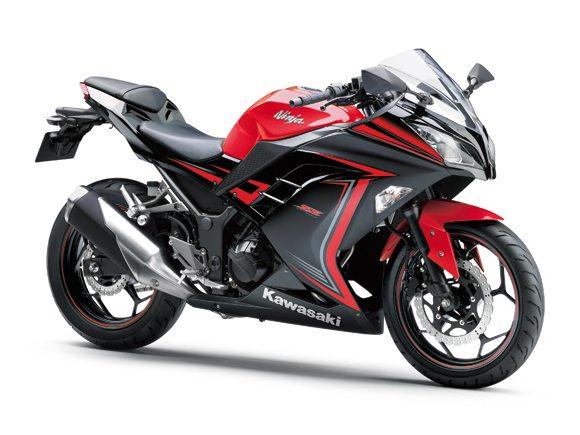 2015 Kawasaki Ninja 300 Red