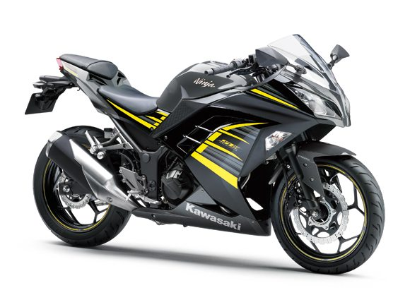 2015 Kawasaki Ninja 300 Yellow