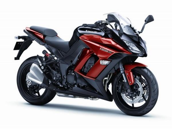 2015 Kawasaki Z1000 SX red