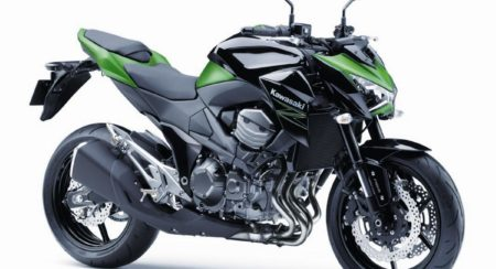 2015 Kawasaki Z800 Green Black