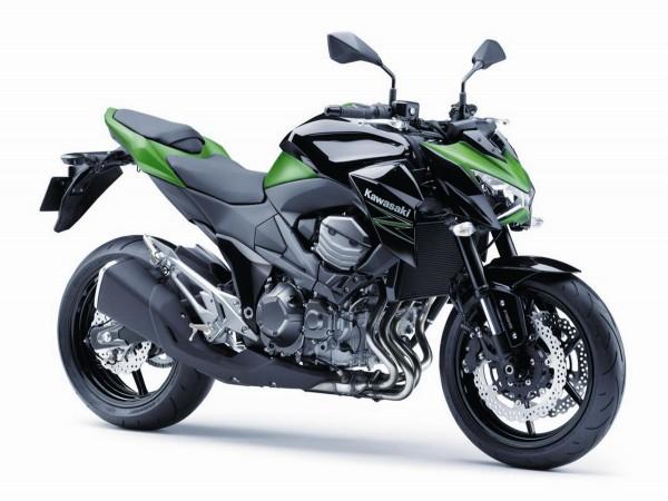 2015 Kawasaki Z800 Green Black