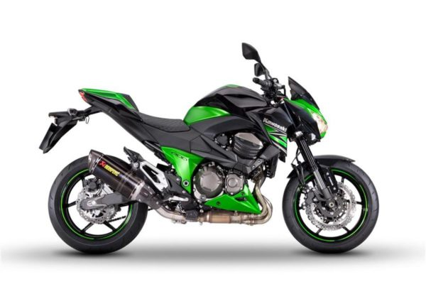 2015 Kawasaki Z800 Performance edition