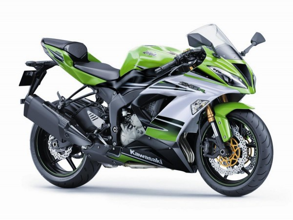 2015 Kawasaki ZX6R 30th Anniversary Edition