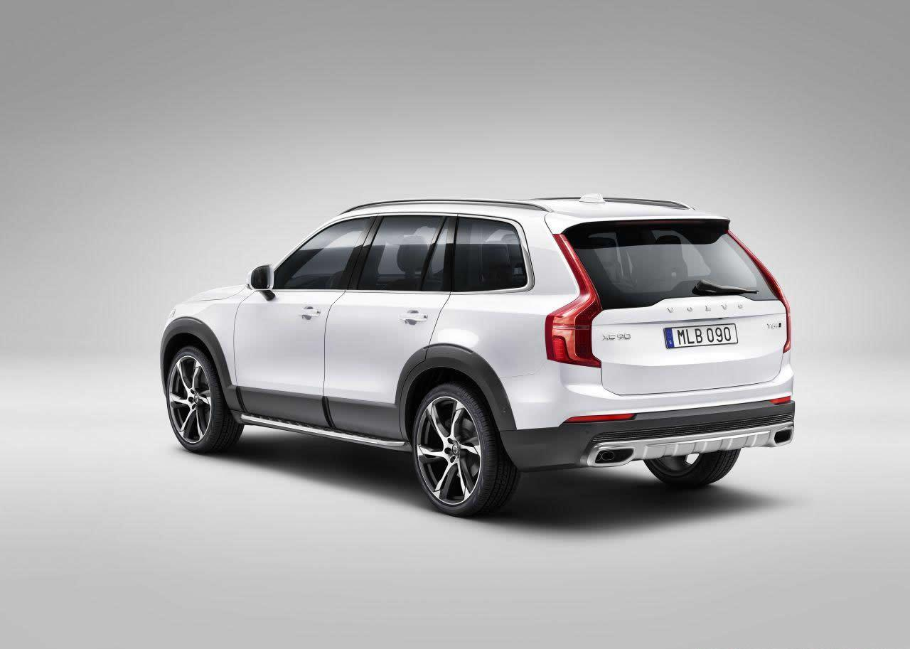 all new 2016 volvo xc90 suv officially unveiled motoroids. Black Bedroom Furniture Sets. Home Design Ideas