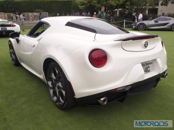 Alfa Romeo 4C back