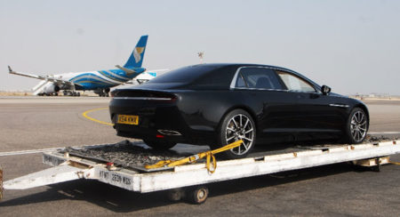 Aston Martin Lagonda and Oman Air (1)