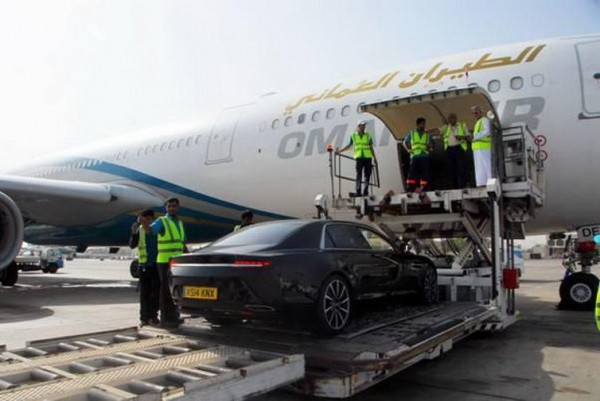 Aston Martin Lagonda and Oman Air (3)