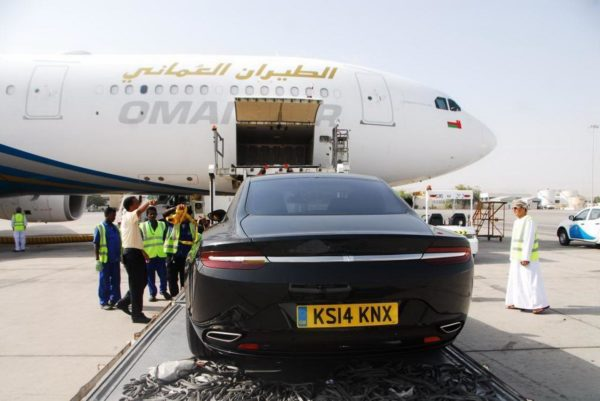 Aston Martin Lagonda and Oman Air (4)