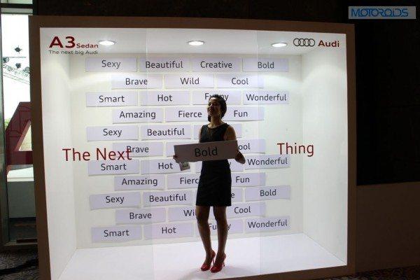 Audi A3 launch (2)