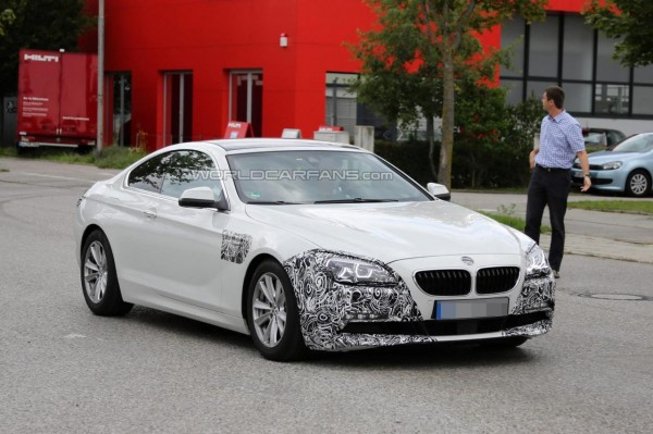BMW 6-Series Coupe Facelift Spied