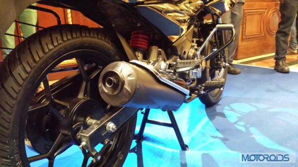 Bajaj-Discover-150F-Launched-Exhaust