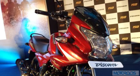 Bajaj-Discover-150F-Launched-Front