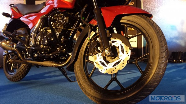 Bajaj-Discover-150F-Launched-Petal-Disc-Brake
