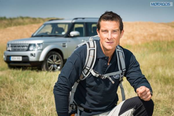 Bear Grylls and the Land Rover Discovery (2)