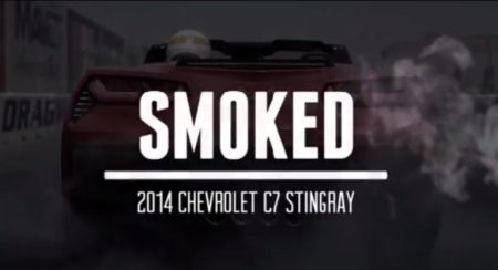 Ducati Diavel Smokes Chevrolet Corvette Stingray