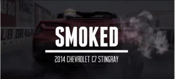 Ducati Diavel Smokes Chevrolet Corvette Stingray
