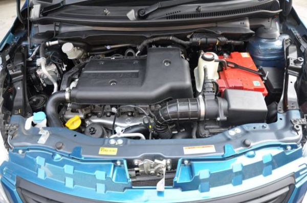 Dzire engine bay